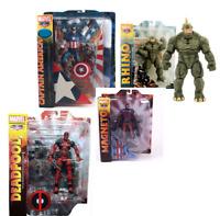 FIGURA MAGNETO / CAPITAN AMERICA / RHINO / DEADPOOL Marvel SELECT en  Blister