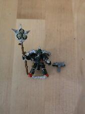 Warhammer 40k Plague Marine Icon Bearer Death Guard Metal