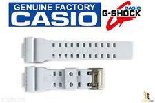 CASIO GA-110SN-7A G-Shock Original White (Off-White) Rubber Watch Band Strap