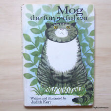 Mog the Forgetful Cat - Judith KERR - First Edition 1970 - Rare Vintage