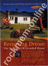 Crowded House Recurring Dream LP Advert