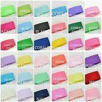 Highest Quality Grosgrain Ribbon 9mm 3/8 inch 65 colours 5m Length