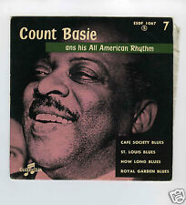 45 RPM EP COUNT BASIE CAFE SOCIETY BLUES