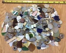 Lk Michigan Relics Beach Sea Glass Fossils Shards Beach Craft Starter Kits 300Pc