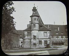 Glass Magic lantern slide ROTHENBURG NO20 C1910  BAVARIA GERMANY