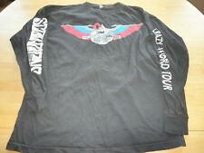 The Scorpions vintage concert shirt long sleeve Large Rare!! Scorpions crew