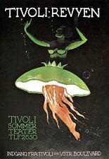 Art Print  Tivoli Summer Teater Theatre Ad Poster