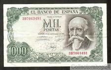 Spain 1000 Pesetas 1971 Zf / Vg  pn 154