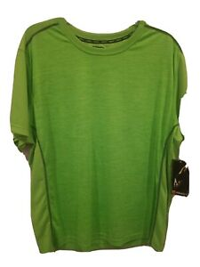 NWT AND1 Men's Active Wear Sports Tshirt Top Green Size 2XL