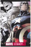 Marvel Legacy 1 2017 NM Premium Joe Quesada B&W Variant
