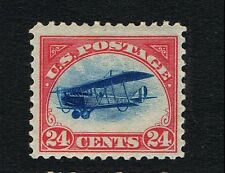 US C3 24c Curtis Jenny Fast and High - Great Color - MINT VF+ LH OG