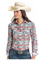 Panhandle Slim Women's Capitola Vintage Aztec Print Snap Western Shirt R4S1540