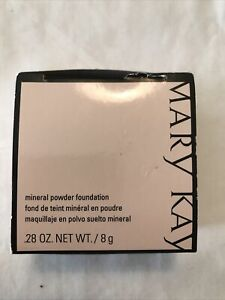 Mary Kay Mineral Powder Foundation Bronze 5 Color NEW In Box .28 oz 040994
