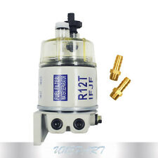 Marine Spin-on Fuel Filter Water Separator New Type of R12T For RACOR