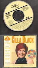 CILLA BLACK The Best Of The EMI Years 1991 CD  You're My World  BURT BACHARACH