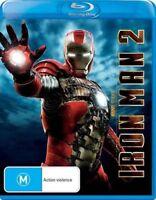Iron Man 2 (Blu-ray, 2013) BRAND NEW & SEALED