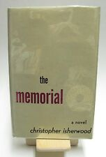 THE MEMORIAL by Christopher Isherwood. 1st Edition. 1st Printing. HCDJ 1946