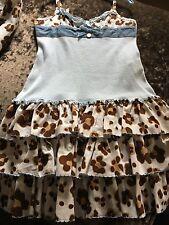 Monnalisa Leopard Dress Age 5