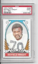 1972 Topps #266   -  Rayfield Wright All-Pro Cowboys PSA 9 MINT.