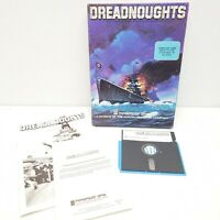 Commodore 64 Software 1985 Dreadnoughts Computer Vintage 5 & 1/4 Disk Game Rare