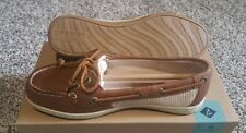Sperry Womens Firefish Core Slip On 2 Eye Lace Up Moc Boat Shoes Hatch Canvas