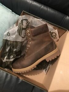 Men's Timberland Premium Waterproof Full Grain Leather Boots. Size Uk 8 Euro 42✅