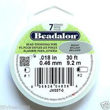 Beadalon 7 Strand : 30 Feet : Bright