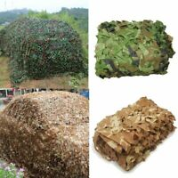 Military Camouflage Netting Woodland Desert Leaves Hunting Camping Camo Army Net