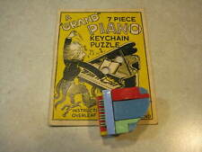 Grand Piano Keychain Puzzle - Made in England by Bell