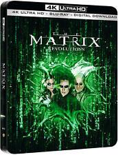 The Matrix Revolutions 4K UHD Steelbook+Blu Ray Dolby Vision/WORLDWIDE SHIPPING