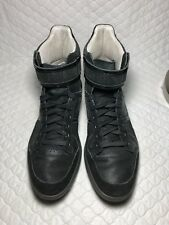 Puma Men's Rudolf Dassler Schuhfabrik Black High Top Sneakers Shoes Size-8