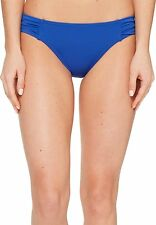Tommy Bahama Womens Pearl Solids Side Shirred Hipster Bikini Swim Bottom NWT$53