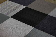 "Mix & Match Carpet Squares (Gray Family) 12 Tiles/ Box 24"" x 24"" 48SF"