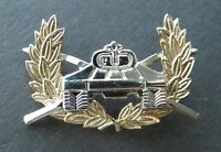 US ARMY CAVALRY ARMORED DIVISION QUALIFICATION BADGE LAPEL PIN BADGE 1.75 INCHES