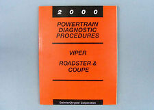 Powertrain Diag. Procedures, 2000 Viper, Powertrain Control Module, 81-699-99068
