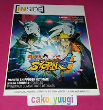 ARTBOOK INSIDE NARUTO SHIPPUDEN ULTIMATE NINJA STORM 4 98 PAGES 100% FRANCAIS