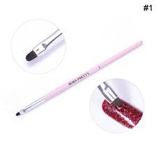 Nail Art UV Gel Brush Cuticle Powder Dust Clean Pen Decor Tools  DIY Born Pretty