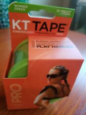 "Kt tape pro Winner Green 20 10"" Precut Strips"
