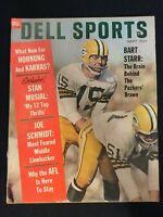 Dell Sports Football Magazine Vintage Sept 1963   Cover:Bart Starr   M1278