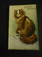 LOUIS WAIN CAT Postcard,Philco Series 2083 E.G., What Are You Laughing At?