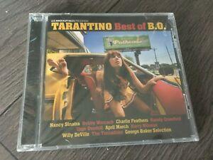 TARANTINO BEST OF BO - CD 10 TITRES NEUF ENCORE EMBALLE !!