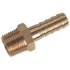 """Linea Aria Connettore tubo di coda 3/8"""" 10mm x 3/8 BSPT PK 6"""