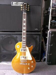 Burny/Fernandes RLG55 Gold Top Les Paul. Padded gigbag. Warantee