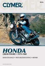 1979 1980 1981 1982 Honda CB650 Nighthawk Clymer Repair Manual M336