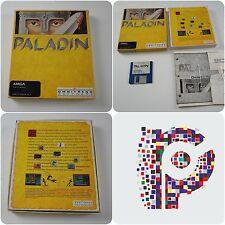 Paladin un omnitrend juego para Commodore Amiga Computer probado y de trabajo