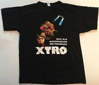 XTRO 35th Anniversary Official Limited Edition German Large Black T-Shirt - New