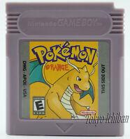 Jeu Compatible Game Boy Pokemon Version Orange - GBC GBA SP DMG 01 Color - Repro