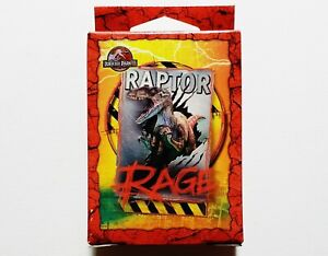 Vintage 2001 Jurassic Park III Raptor Rage 50-Piece Mini Puzzle *NEW* RARE HTF