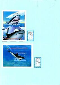 LOT N° 230c - TIMBRES de MADAGASCAR - BLOCS - année de l'Océan faune marine