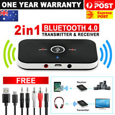 HIFI Wireless Bluetooth 2 in1 Audio Receiver Transmitter 3.5MM RCA Music Adapter